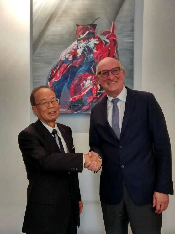 On 10 July 2017, the EU and Japan Textile and Clothing industries met in Brussels. © Euratex