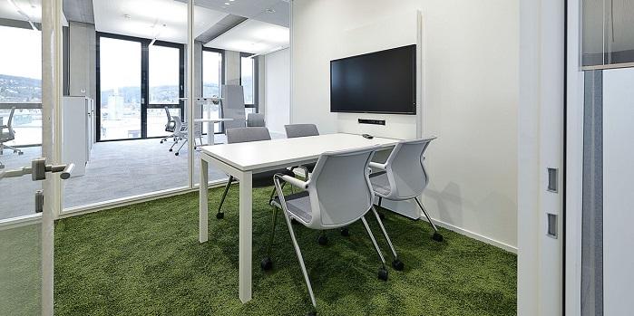 Modular carpets key to noise reduction