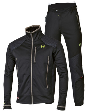 Sportful Dolomiti Windstopper jacket and pants