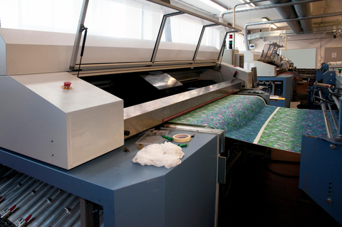 Digital printing (inkjet printing) in textiles is a growing area.