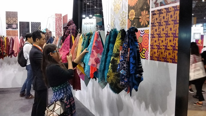 In 2016, the show featured 4,553 exhibitors from 29 countries and regions. © Innovation in Textiles