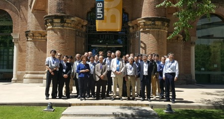 The second EU-Japan meeting, held in Barcelona during 6-8 May 2017, was an opportunity for graphene researchers from Europe and Japan to meet and discuss shared research questions and explore collaboration opportunities. © Graphene Flagship