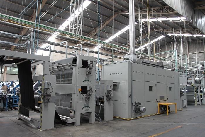 Monforts has a number of advanced technologies that can help mills that are finishing a diverse range of fabrics to achieve higher productivity. © Monforts