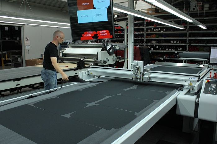 Girsberger has overhauled its production workflow thanks to a Zünd G3 L-3200 cutting system. © Zünd UK