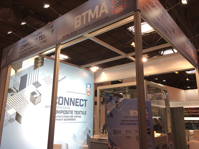 BTMA will be promoting the UK textile manufacturing and testing machinery at Advanced Engineering 2017. © Inside Composites