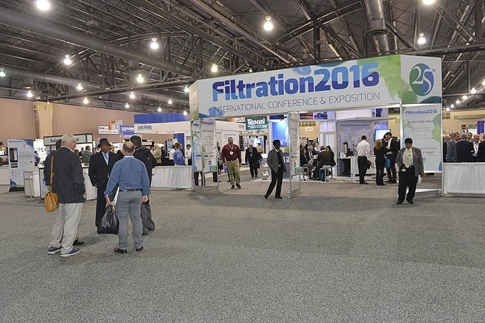 Filtration 2017 will take place from 11-12 October in Chicago. ©  INDA/Filtration