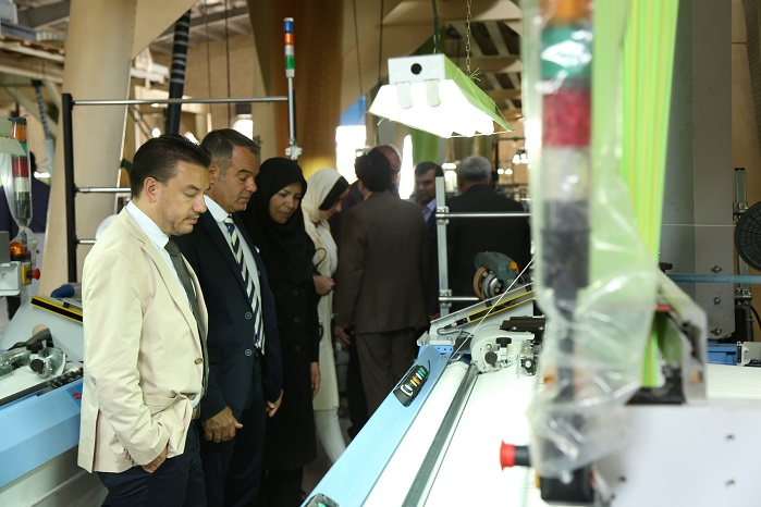 The event represented a unique opportunity to the attendees to visit the factory of SMIT customer Reza Soltani. © Santex Rimar Group