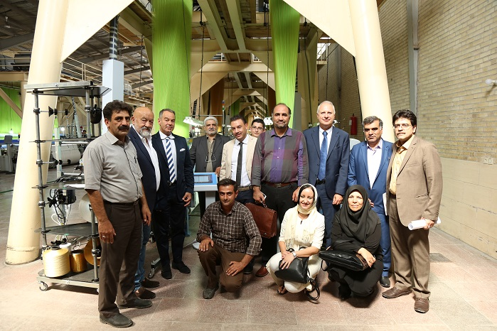 Once again Future Textile Road investigated the theme of osmosis between the Persian textiles trends and Italian technology. © Santex Rimar Group