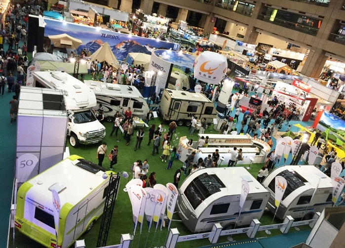 Taiwan Outdoor Show is Asia's leading outdoor showcase event. © Taiwan Outdoor Show