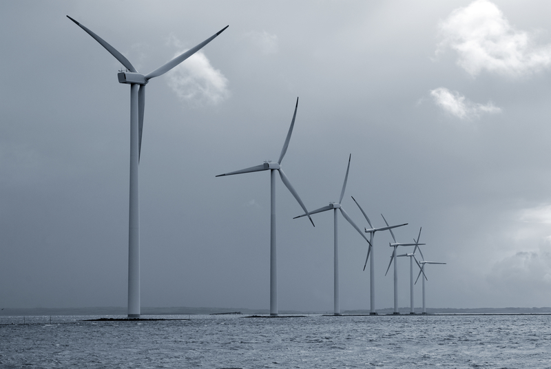 In the North Atlantic, the drag introduced by wind turbines would not slow down winds as much as they would on land.