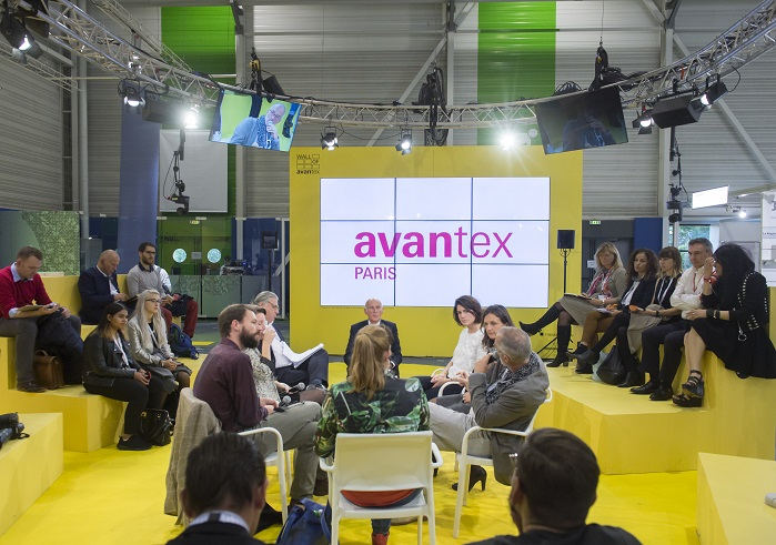 The event welcomed buyers who were on the lookout for new products and innovations. © Avantex Paris