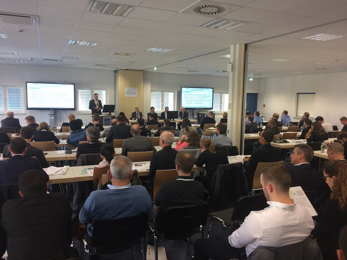 Over 100 R&D and innovation managers, product developers, researchers and students gathered to share knowledge. © EDANA
