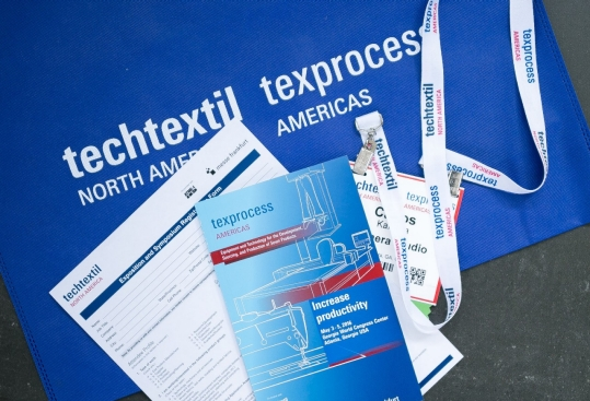 Techtextil North America and Texprocess Americas will be held from 22-24 May 2018 at the Georgia World Congress Center in Atlanta, GA. © Messe Frankfurt