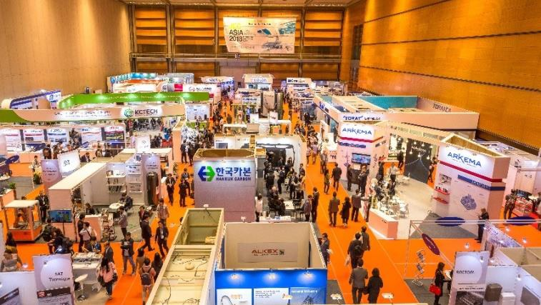 One of the three levels of JEC Asia 2017. © JEC Group