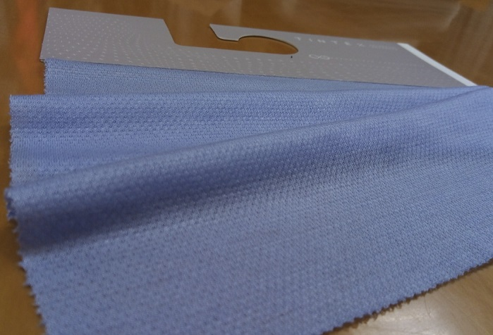 Tintex Tencel®/ silk/ cashmere blend with HEIQ ADAPTIVE finish. © Tintex