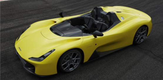 Dallara Stradale is a two-seat, mid-engine, carbon-fibre sports car. © Dallar