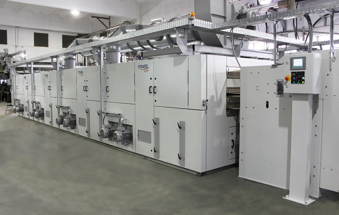 4-zone relaxation dryer in the new line for knitted fabric of CDL Knits. © Brückner Textile Machinery/ Tropic Knits Group
