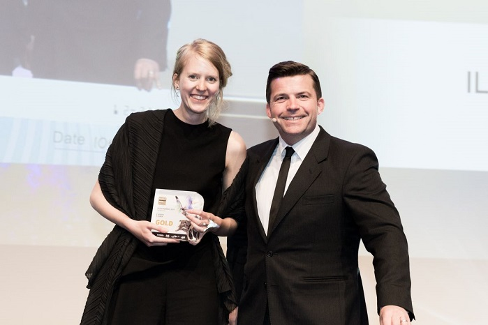 Sandra Zomer from the Netherlands won last year's Young Star Award. © FESPA