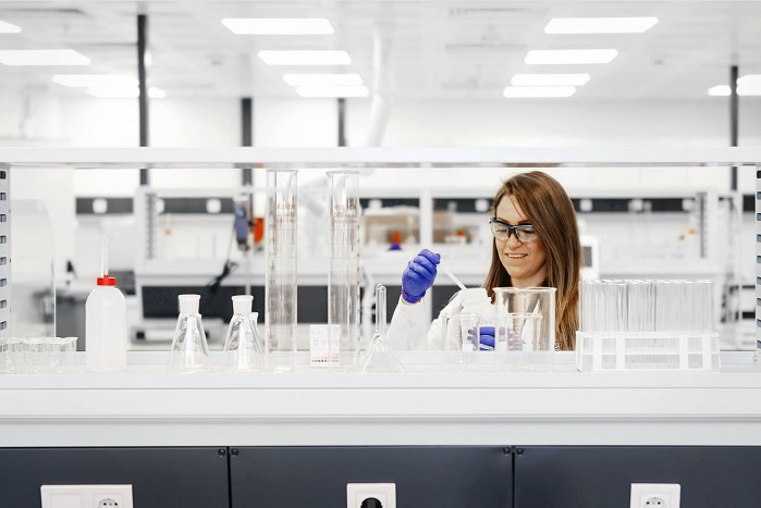 Silicones for textile, cosmetic and household-care applications can be tested at Wacker's new technical centre in Istanbul. © Wacker Chemie AG