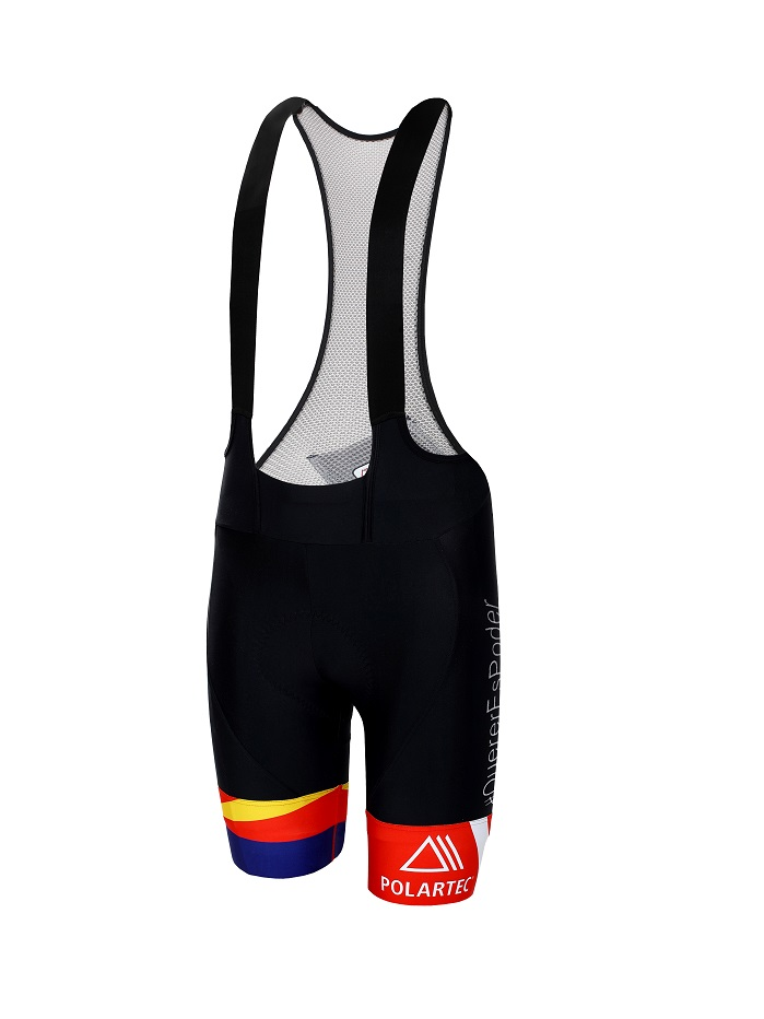 Bib shorts made of Polartec Power Stretch. © Polartec