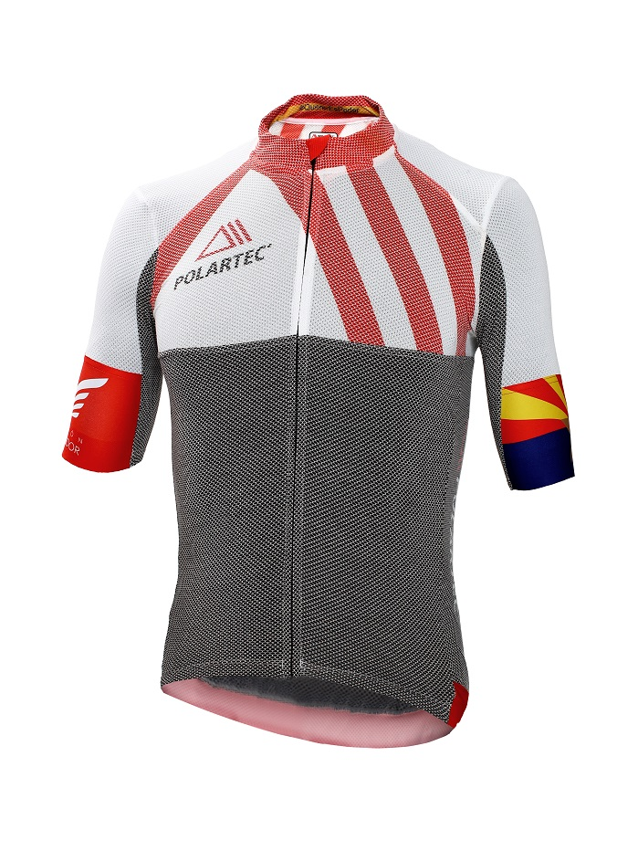 Jersey made of Polartec Delta. © Polartec
