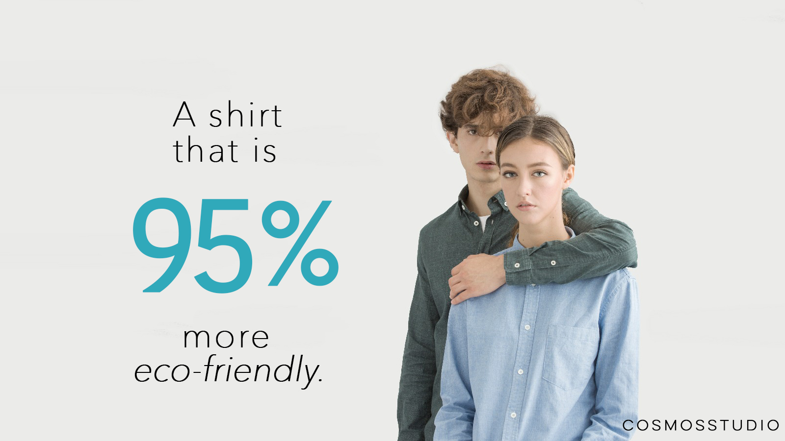 The eco-friendly shirt production is powered by a newly invented colour diffusion technology that is said to make it 95% more eco-friendly, compared to any other apparel making process, according to the company.