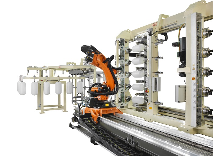 Roth Composite Machinery offers concepts for complete production lines. © Roth Composite Machinery
