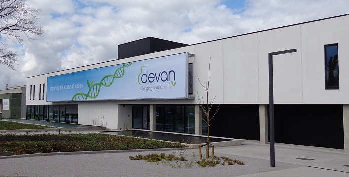 Devan Chemicals is a Belgian-headquartered developer of finishing technologies for textiles. © Devan Chemicals