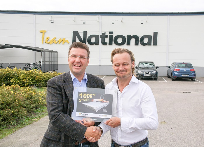 Eurolaser Installs 1000th Large Format Cutting System