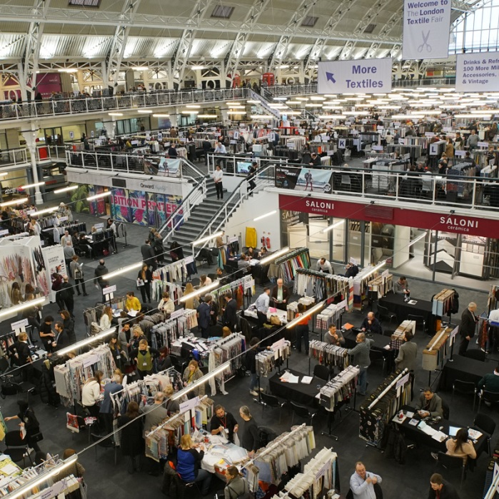 TLTF attracts designers, buyers and product developers. © The London Textile Fair