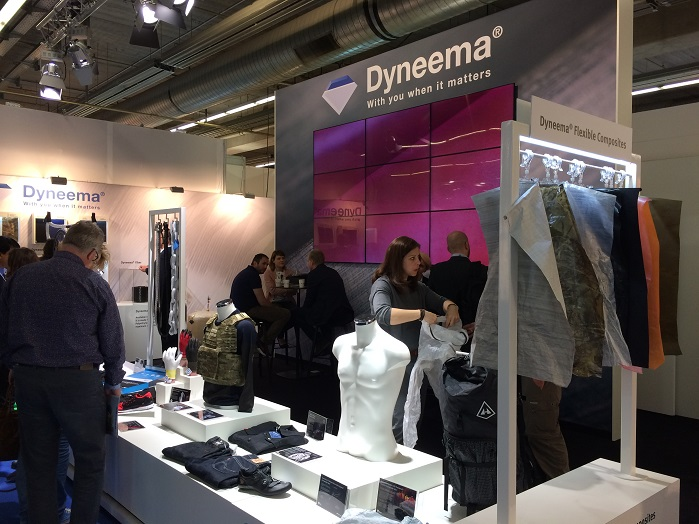 Dyneema at Techtextil 2017. © Innovation in Textiles