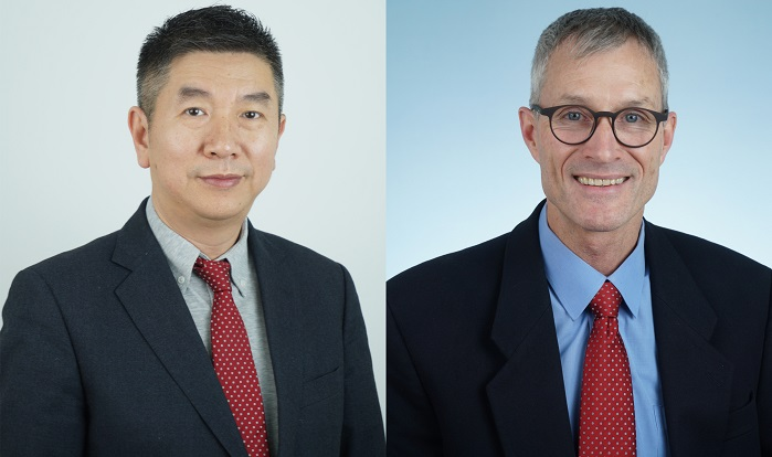 Anson Xu, new Executive Vice President, Chief Operating Officer, China, and Walter Kiechl, Executive Vice-President, Chief Operation Officer, China. © Uster Technologies