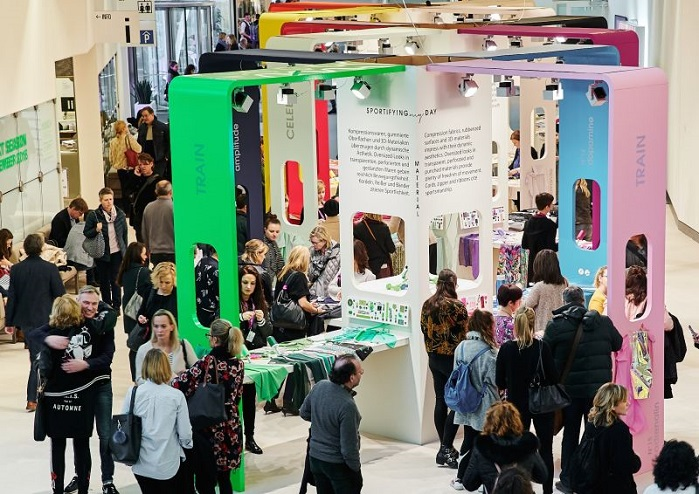 On display were more than 1,800 collections from international fabrics and accessories suppliers. © Munich Fabric Start
