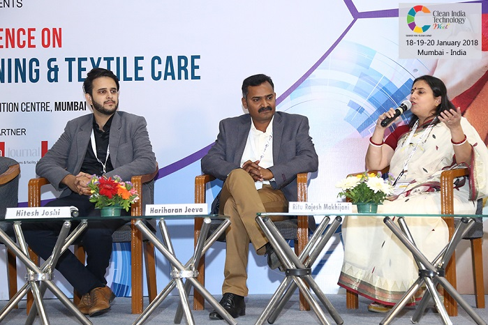 The eminent panel of speakers included business leaders, technology experts and sector specialists from India and abroad. © Messe Frankfurt/Texcare International