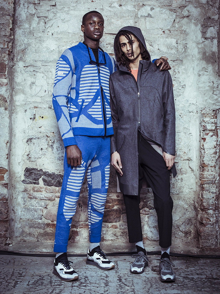 Dyne has been announced the inaugural winner of the 2017/2018 International Woolmark Prize Innovation Award. © The Woolmark Company/Dyne