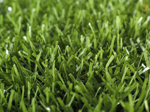 Close up view of TenCate XP Blade synthetic turf