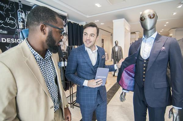 Indochino is transforming men's apparel by making custom clothing accessible and affordable for everyone through its unique, experiential approach to online and offline retail. © indochino