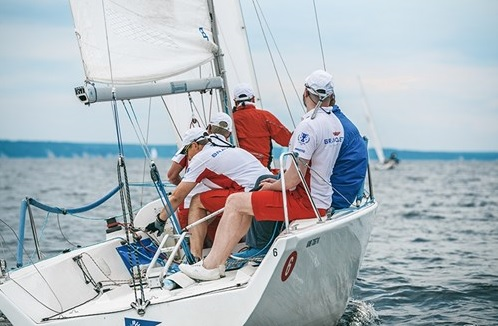 The workgroups also dealt with the safety aspects of sailing. © RadiciGroup