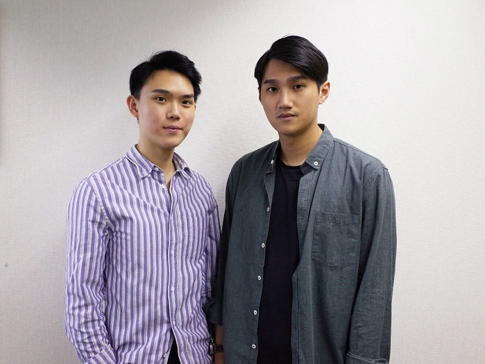 Jeffrey Man, co-creator & Strategy, and Davy Chan, co-creator & Creative. © Cosmos Studio