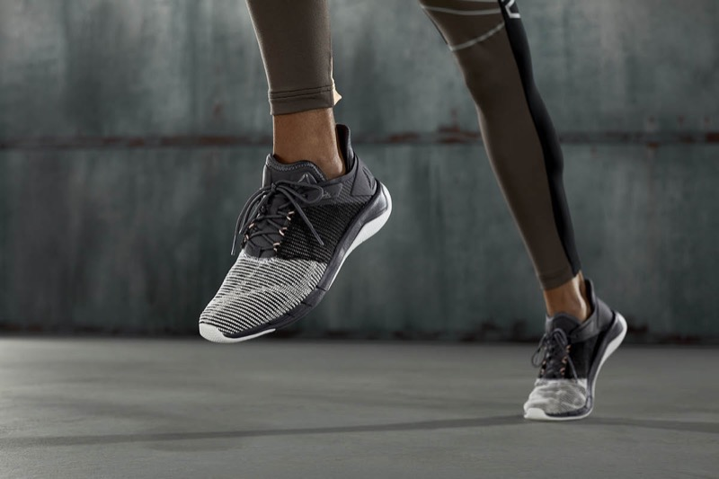 The Fast Flexweave shoe is said to provide the ultimate combination of fit and performance. © Reebok