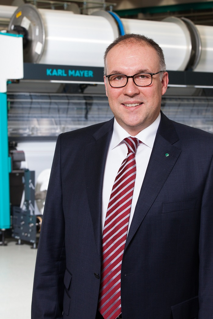 Arno Gärtner, CEO of the Karl Mayer Group. © Karl Mayer