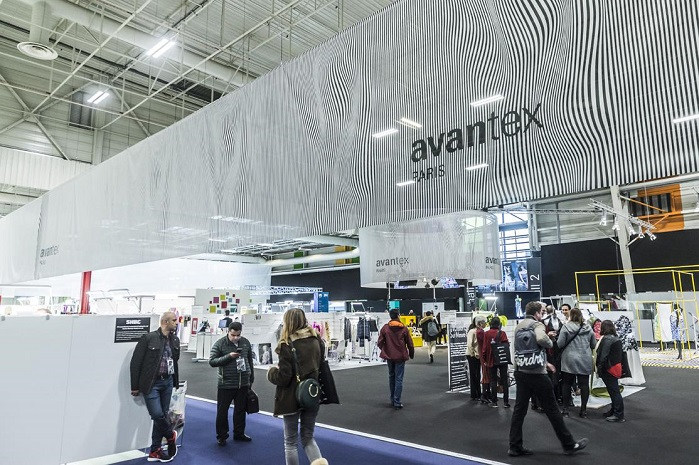 The event attracts 13,527 visitors from 107 countries. © Messe Frankfurt France/Avantex