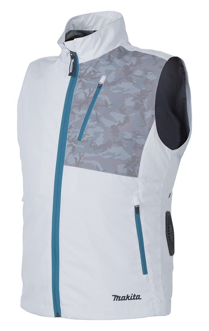 Pressure controlled fan cool vest. © Teijin