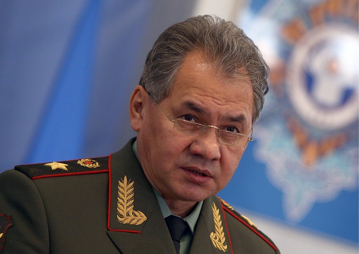 Sergei Shoigu, Russia's Defence Minister and one of major initiators for development of innovative textile materials for needs of defence. © Eugene Gerden