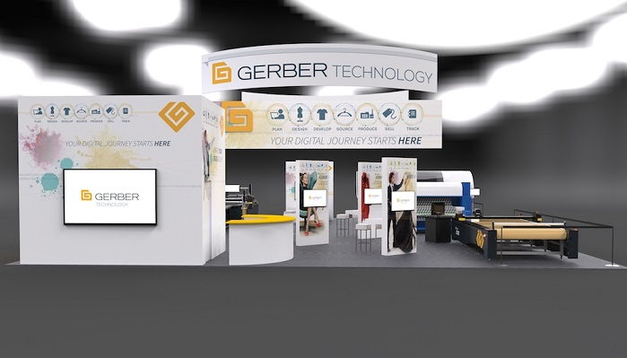This digital workflow process will include Gerber Technology's AccuMark and AccuMark 3D for product design. © Gerber Technology