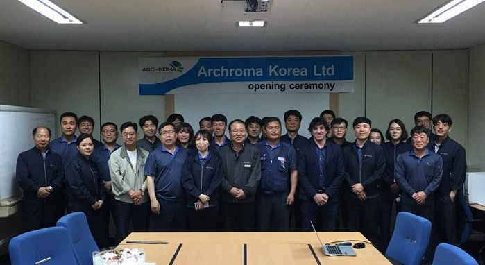Archroma recently acquired 100% of the shares of M. Dohmen Korea. © Archroma