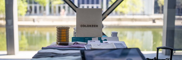 ColorZen was one of twelve finalists selected for the Summit's Innovation Forum, in which companies pitch their technologies onstage in front of a panel of expert judges and Summit attendees. © ColorZen