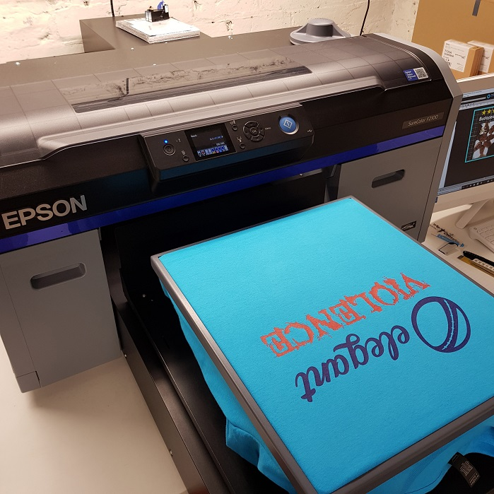 First XV is first UK company with SureColour SC-F2100. © Epson