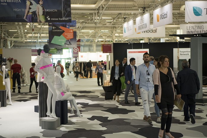 The show will feature e-clothing, e-accessories, advanced textiles, flexible or adaptive embedded systems for textiles, and more. © Messe Frankfurt/Avantex Paris