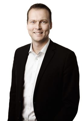 Magnus Hellström, Vice President Sales & Marketing at Coloreel. (c) Coloreel.